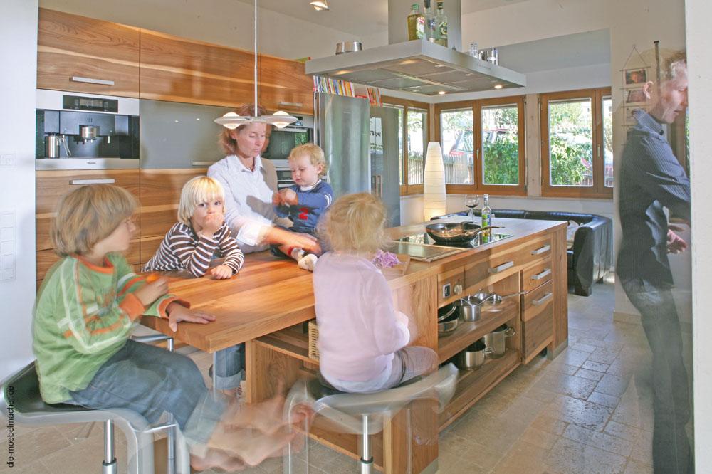 Modernste Geräte von deutschen Herstellern für unsere Küchen aus Massivholz